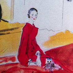 The  Comtesse de Polignac by Cecil Beaton.