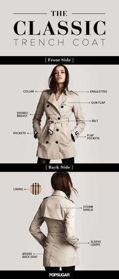 Trench Coat Outfit For Spring - FashionActivation Trench Coats, Trench Coat Outfit, Classic Trench Coat, Burberry Trench Coat, Look Fashion, Autumn Fashion, Womens Fashion, Fashion Tips, Coats