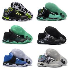 Drop Shipping Wholesale Famous Cheap Players Kyrie 2 Mens Sports Basketball Shoes Sneakers Size 7-12