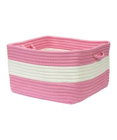 Take a look at this Camerum Rope Walk Utility Basket by Colonial Mills on #zulily today!