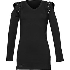 Gothic clothing: long-sleeve tunic by Queen of Darkness