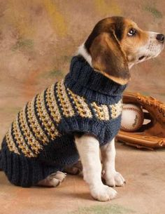 Slip-Stitch Style Dog Sweater Top 10 best free knitting patterns for Free pattern Friday Knitted Dog Sweater Pattern, Dog Coat Pattern, Knit Dog Sweater, Sweater Knitting Patterns, Crochet Patterns, Free Knitting, Free Crochet, Knitting Terms, Knitting Ideas