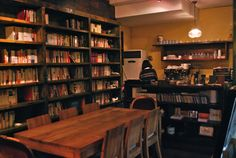 BOOK CAFE / KOREA. Wish they had these here in the states