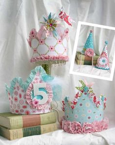 almost time to start planning my little miss's 5th bday party. this might be the perfect craft!