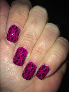 Orly color blast nails