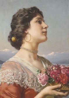 Wladislaus von Czachorski Polish, 1850—1911 The Bouquet