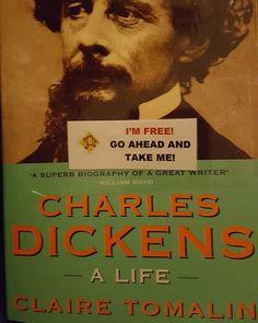 #iamreading #instareads #instabooks #clairetomalin #CharlesDickens #biography