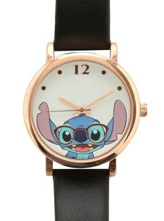 Disney Lilo & Stitch Nerdy Stitch Watch from Hot Topic. Saved to Epic Wishlist. Shop more products from Hot Topic on Wanelo. Lilo And Stitch 3, Stitch Disney, Cute Stitch, Style Indie, Grunge Style, Soft Grunge, Cute Disney, Disney Style, Disney Disney