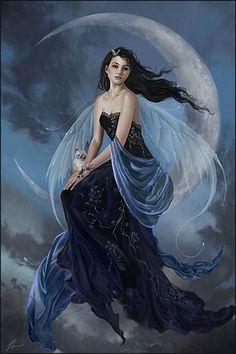 Nene Thomas, fairy, moon