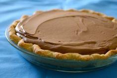 Chocolate Silk Pie for Pi Day