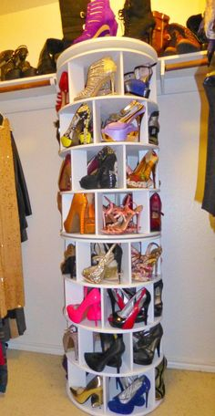 Home Discover Spinning shoe rack closet mod by Truespacesavers on Etsy Master Closet Closet Bedroom Shoe Organizer Closet Organization Organization Ideas Organizers Spinning Shoe Rack Rotating Shoe Rack Shoe Rack Closet Master Closet, Closet Bedroom, Room Decor Bedroom, Girl Closet, Bedroom Ideas, Spinning Shoe Rack, Rotating Shoe Rack, Shoe Storage Design, Shoe Storage Solutions