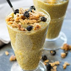 Chia Seed Breakfast Pudding. It's a hit. Honestly, you could eat it any time of the day but it made a beautiful breakfast for me this morning.
