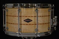 Craviotto Figured Maple 8x14 snare
