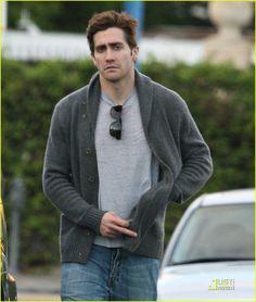 Jake Gyllenhaal Gets a Haircut! | jake gyllenhaal haircut 03 - Photo