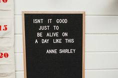 Anne of Green Gables Book Quote