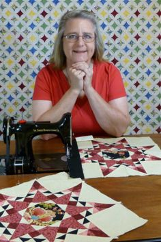 Nova Montgomery's home page...quilting & featherweights
