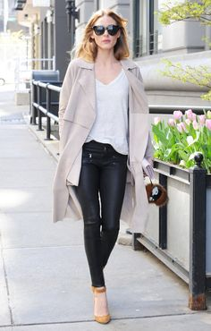 Olivia Palermo Shows Us How to Rock a $13 T-Shirt - April 20, 2016