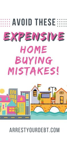 Avoid these 8 common mistakes people make when they buy a home. The home buying process does not need to be stressful. If you come in prepared and avoid these expensive mistakes, you can save yourself tens of thousands of dollars! Buying First Home, Home Buying Tips, Home Buying Process, Money Saving Tips, Money Tips, Term Life Insurance, Thing 1, Savings Plan, Debt Free