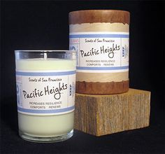 Candles based on scents around the city of SF