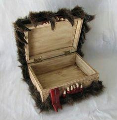 """""""Libro"""" caja mounstro"""