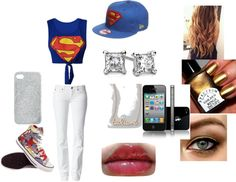 """SUPERMAN"" by soccerjazzgirl on Polyvore"