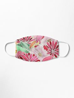 Hand drawn in pencil, a pattern in shades of pink, crimson, mint green tan. Make A Donation, Mask Design, Cotton Tote Bags, Mint Green, Hand Drawn, Masks, Sunglasses Case, How To Draw Hands, Finding Yourself