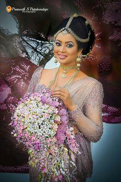 Kandian Bride in Purple