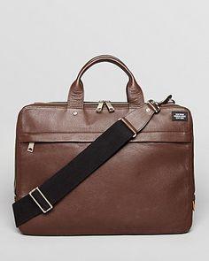 Jack Spade Mason Davis Slim Leather Briefcase   Bloomingdale's