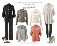 """""""Replicate Olivia Pope's sophisticated style with cabi Fall '15"""" by brie-zy on Polyvore"""