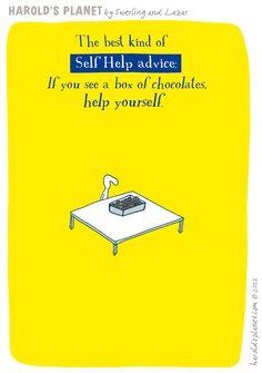 Self-help advice...