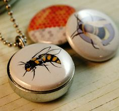 Save the bees locket