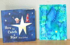 Watercolor Art Activity for Kids Inspired by How to Catch a Star - Buggy and Buddy