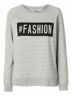 @Veronica MODA #Graphic #statements  FASHION L/S SWEAT - Vero Moda