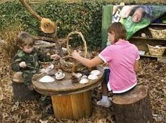 loose parts outdoor play