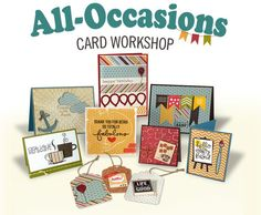All-Occasions card workshop at Archiver's!