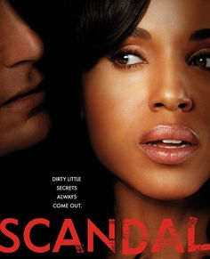 Scandal - if you don't already watch it then we have plenty of time to catch you up! One of my favorite shows.