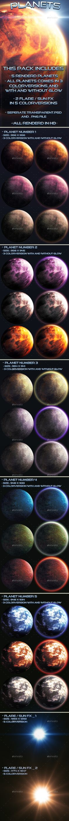 Planets - Miscellaneous #Game #Assets Download here: https://graphicriver.net/item/planets/20055870?ref=alena994
