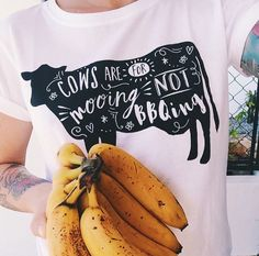 Cows are for mooing NOT bbqing. Vegan Fashion, Ethical Fashion, Vegan Looks, Vegan Shopping, Vegan Clothing, Vegan Lifestyle, Vegan Friendly, Going Vegan, Playing Dress Up