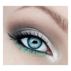 20 Blue Eyes Makeup Tutorials for 2015 ❤ liked on Polyvore featuring beauty products, makeup, eye makeup, eyes and beauty