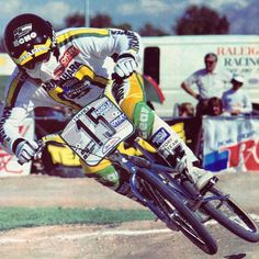 Clint Miller fully on the gas, courtesy of Bob Osborn, BMXA Feb Some… Bmx Bicycle, Bmx Bikes, Bmx 16, Big Blue Whale, Bmx Cruiser, Bmx Street, Bmx Racing, The Golden Years, Vintage Bikes