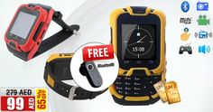 AED 99/- only! + FREE Bluetooth KEN XIN DA W10 Watch Mobile Phone, Dual SIM, Camera, Bluetooth, FM Radio and more  Buy NOW>>> awok.co/RduRNY ,www.awok.com