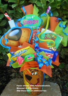 Scooby Doo Kids Party Favor by LynnsCandyCreations on Etsy, $4.75