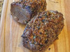 nwaFoodie: Horseradish-crusted beef tenderloin that is tasty,...