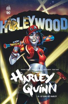 Harley Quinn - tome 4 (13.01.2017) // Harley Quinn et son gang prennent la route ! Prochain arrêt : Hollywood, où la jeune femme risque fort de vivre le quart d'heure de célébrité le plus destructeur de sa vie. La Cité des Anges se relèvera-t-elle de l'ouragan Quinzel ?Contient : HARLEY QUINN VOL. 4: A CALL TO ARMS (#17-21 + HARLEY QUINN ROAD TRIP SPECIAL #1 + Sneak Peek) #harley #quinn #urban #comics #dc #français