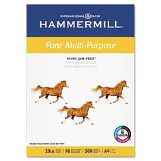 Hammermill Fore MP, 20lb, A4 Size 210mm x 297mm (8-3/10