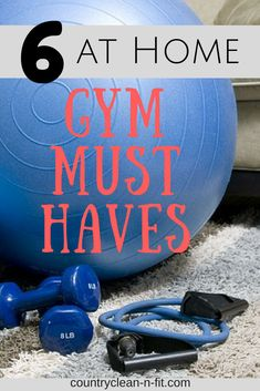 6 Product Must Haves to create your at home gym! Start your fitness and weight loss journey with these inexpensive products. Skip the gym at work out at home. Healthy Lifestyle. Workout and Stay Fit.