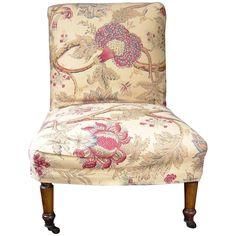 English Slipper Chair