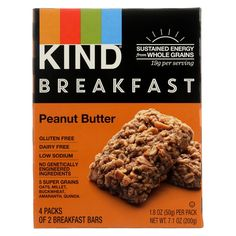 Kind Peanut Butter - Case Of 8 - 1.8 Oz.  #love #inspiredbeacon #organic  #WheatFree #NutritionalBars #YeastFree #FoodBeverages #GmoFree