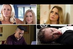 Soap spoilers Corrie and Emmerdale violence, EastEnders clash, Hollyoaks tragedy