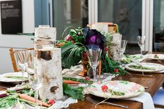 Farm to Table Wedding Styled Shoot Inspiration by Catrina Earls  Photography – Design by HCWD ---- Contemporary Weddings Magazine